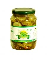 Sweet cucumbers slices 720ml