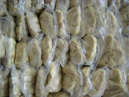 bamboo shoots in bags
