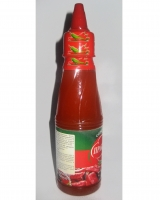 Chilli sauce 200gr with garlic & pepper