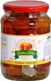 Pickled  tomatoes in glass jars 720ml
